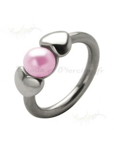 Piercing anneaux perles