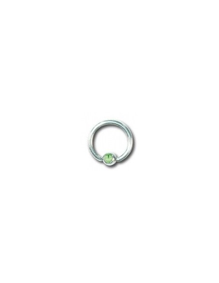 Piercing circulaire deluxe boule et zircon