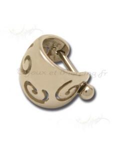 Piercing Oreille spirales envoutantes
