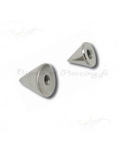 Pointes a monter sur barre piercing 1.6 mm