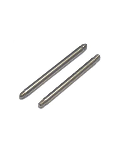 Barre Piercing Barbell droit de 1.2 mm en acier chirugical 310 L