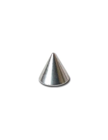 Pointe titane pour barre de piercing en 1.2mm - element de piercing