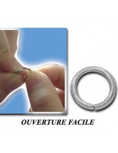 Anneau piercing pose facile