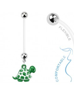 Piercing grossesse tortue