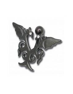 Piercing nombril Gothique et Dragon