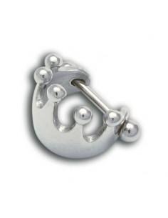 Piercing cartilage couronne