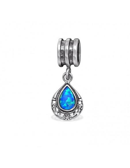 charms pendentif avec turquoise