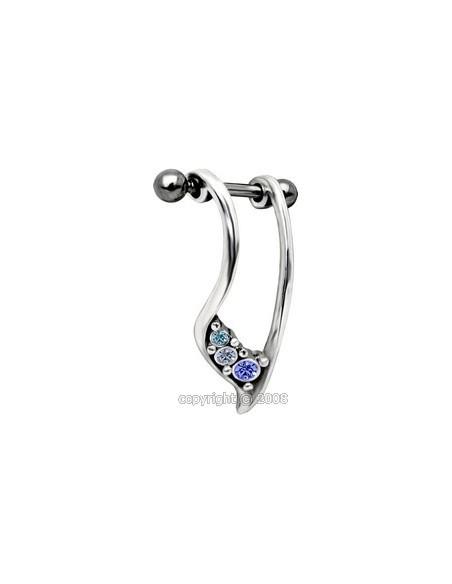 boucle d'oreille piercing cartilage