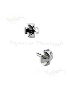 Accessoires piercing Croix chevalier de malte