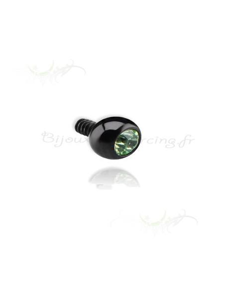Blacksteel - un strass lumineux