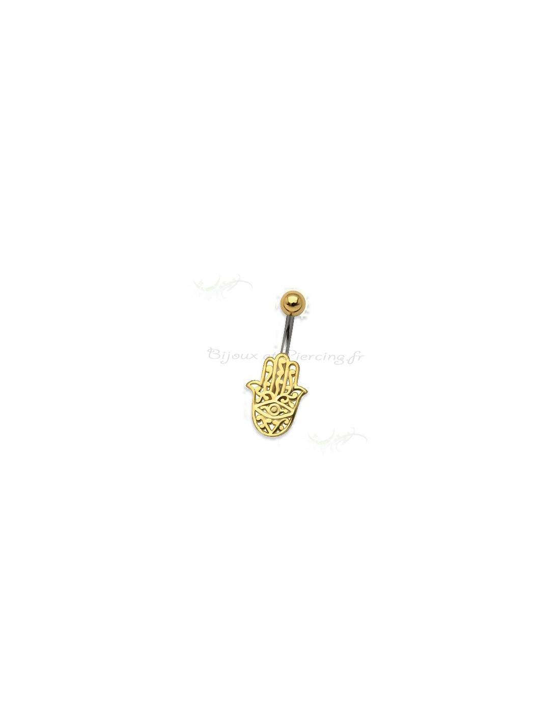Bijoux De Nombril achat bijoux main de fatima - piercing nombril