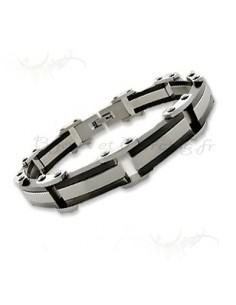 Bracelet acier de qualité pour homme