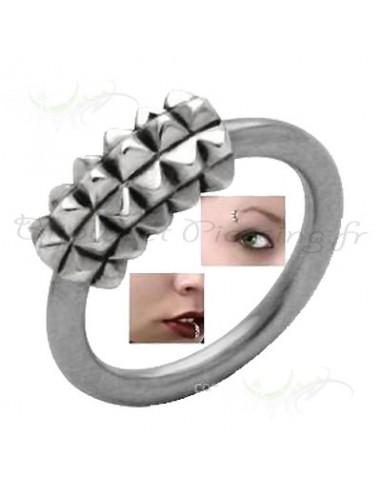 Piercing circulaire original