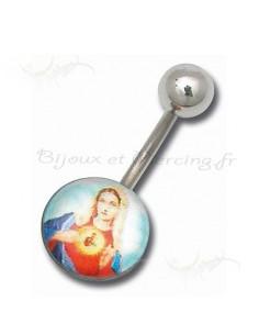 Piercing Nombril Logo Bijoux imprimer de Jesus