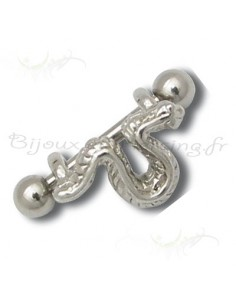 Piercing Broche serpent