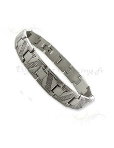 Bracelet Homme - acier strillé