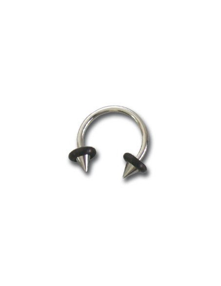 Piercing fer a cheval pointe acier chirugical