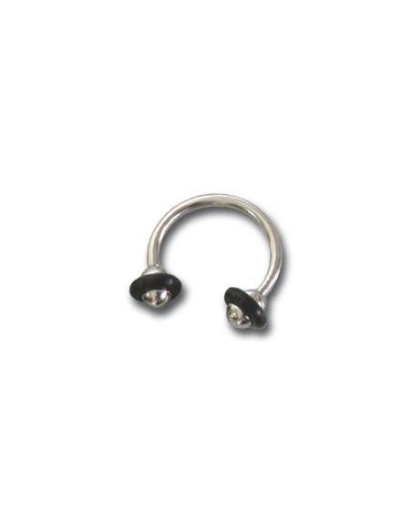 Piercing Circulaire Fer a Cheval boule acier