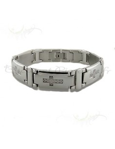 Bracelet culte acier inoxydable