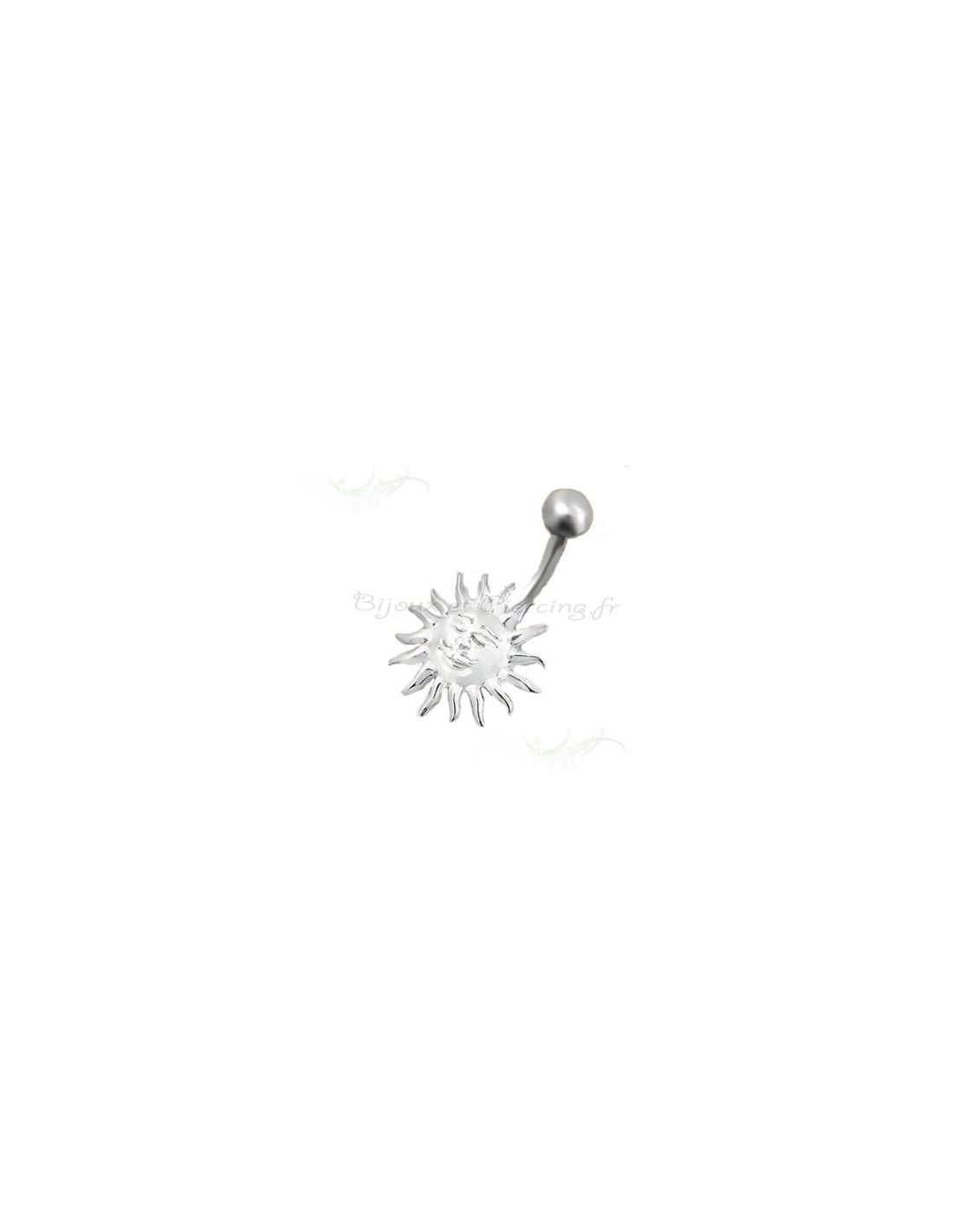 bijou soleil de nombril piercing. Black Bedroom Furniture Sets. Home Design Ideas