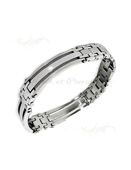 bracelet pour homme pas cher acier
