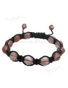 Bracelet shambala couleur automnale