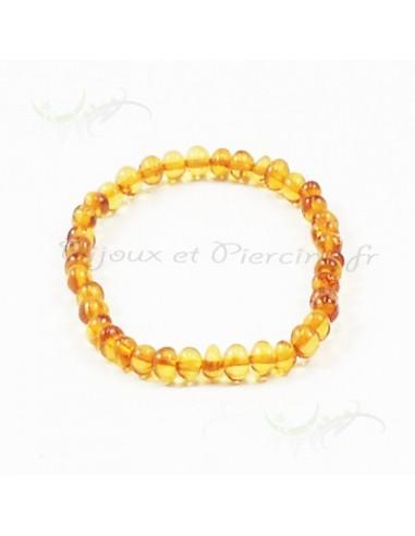 Ambre porte chance - bijoux bracelet