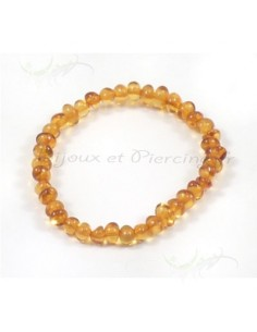 Bracelet enfant ambre véritable