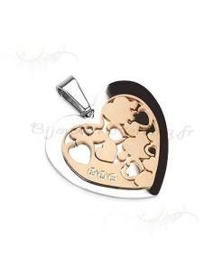 bijoux pendentif coeur de qualité