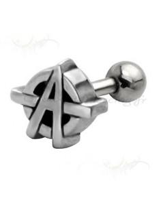 Piercing cartilage Anarchiste