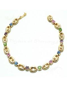 Bracelet plaqué or lumineux