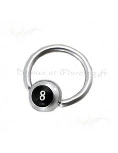 Piercing circulaire numéro 8
