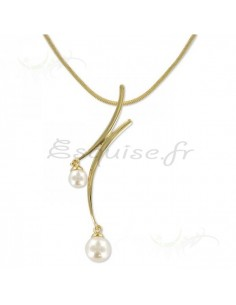 Collier plaqué or pendentif de qualité