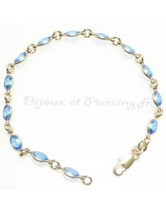 Bracelet swarovski - ornée de belles pierres