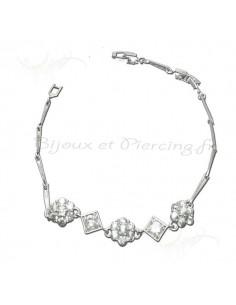 Magnifique bracelet argent pour femme