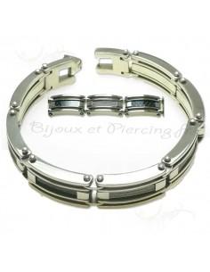 Bracelet Homme aux reflets variables