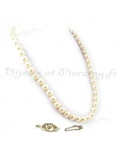 Collier raz de cou perles de Majorque