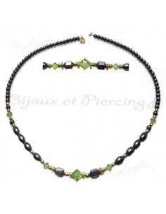 Collier perle noir indémodable