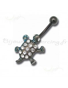 piercing au nombril tortue