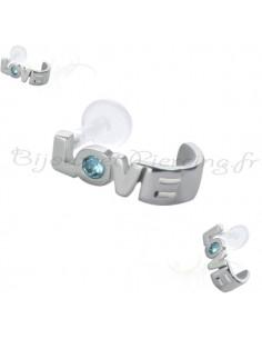 Piercing cartilage hélix amour