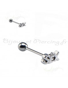 Piercing de langue Sex