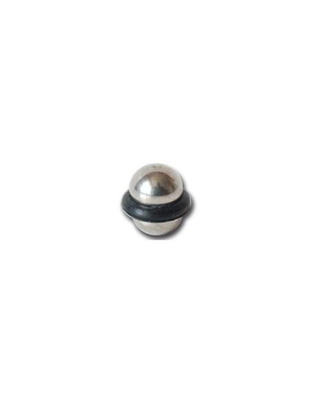 Boule OVNI acier pour barre de piercing de 1.2mm