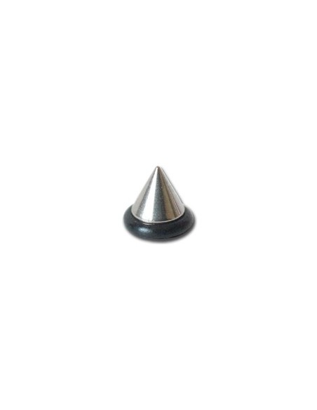 Pointe OVNI acier pour barre de piercing de 1.2mm