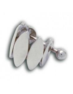 Barbell acier motif fonte d'acier spécial cartilage