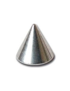 Pointe titane pour barre de piercing en 1.2mm - element de piercing