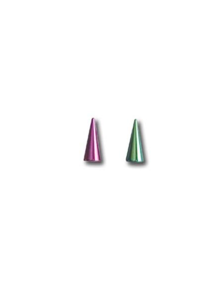 Pointe long spyke titane pour barre de 1.2 mm