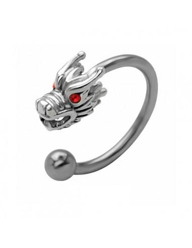 Piercing circulaire dragon