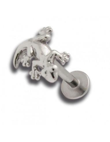 Micro labret acier interne embout fonte dacier