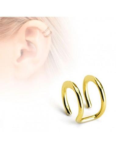 Piercing oreille illusion