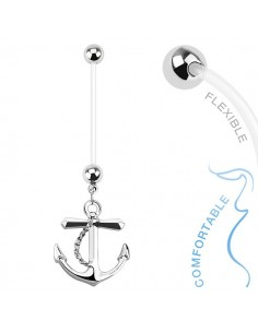 Piercing grossesse ancre marine